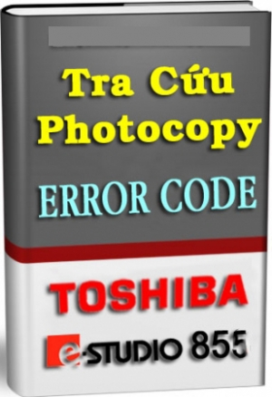 Bảng tra mã lỗi Toshiba 855 Full
