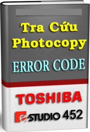 Bảng tra mã lỗi Toshiba E352/452 Full