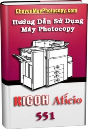 Tài liệu hướng dẫn sử dụng Ricoh 551